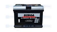 Аккумулятор BERGA Power Block 60А (-/+)(540EN)EB