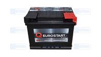 Аккумулятор EUROSTART 60Ah (-/+) (550EN) ЕВ