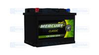 Аккумулятор MERCURY CLASSIC Plus(-/+)60Ah(520EN) ЕВ
