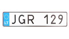 Сувенирный номер иностранной регистрации